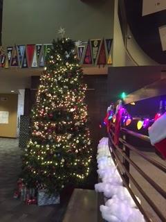 Verrado High School's Christmas tree taken by Brianna Mayes.