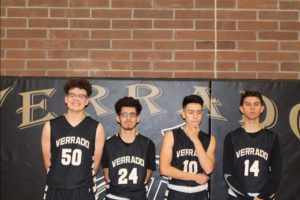 The Vipers are lead by just four seniors this year, as opposed to the eleven on the team last season. From left to right: Jackson Morton, Noah Barajas, Robert Gallardo, and Daniel Rodriguez-Kuleff. Photo Credits: @RobGallardo21