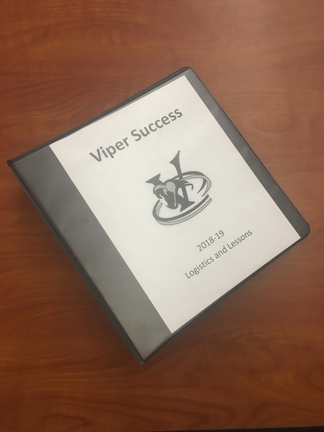 A copy of VHS's lessons and logistics for the Viper Success program, which now includes a structured study hall.