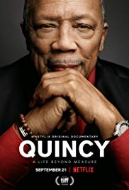 Poster for the Netflix original 'Quincy'.