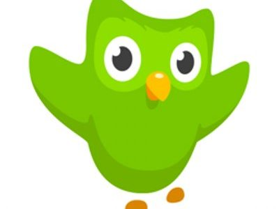 Duolingo's mascot, a green owl, is featured on most of the app's media–including their Twitter page.