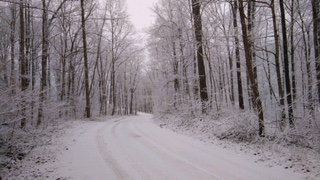 Recent snows in Linton, Indiana.