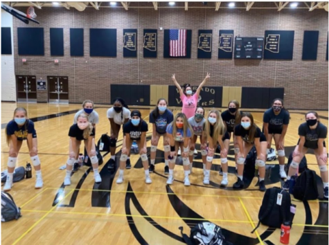Verrado Volleyball Wins!