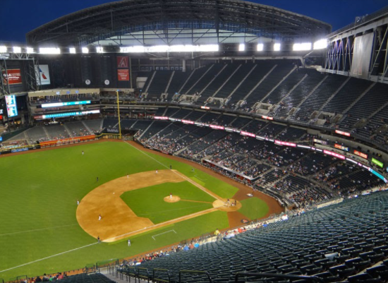 Diamondbacks allow 25% Capacity at Home Games