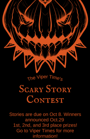 Scary Story Contest Flyer
