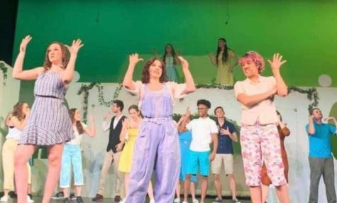 Performance of Mamma Mia!