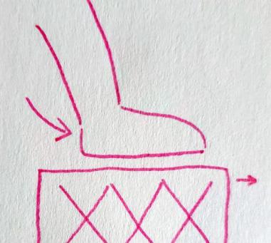 Milk crate diagram