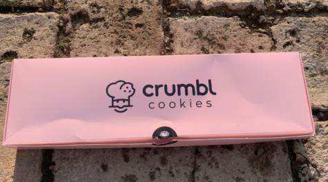 Crumbl cookie box
